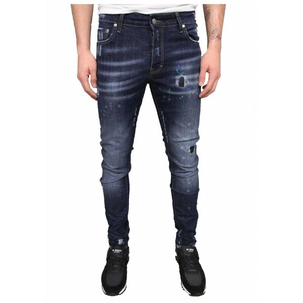 My Brand Jack 037 Spotted Jeans Blue