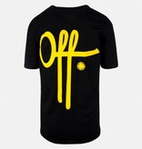 Off The Pitch OTP Full Stop SS T-Shirt Black