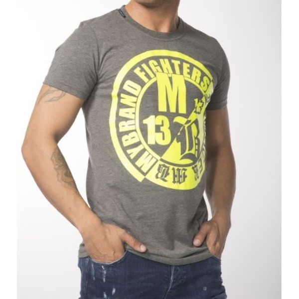 My Brand Fighters Yellow Logo T-Shirt