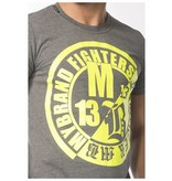 My Brand My Brand Fighters Yellow Logo T-Shirt