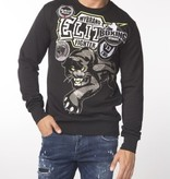 My Brand My Brand Elite Panther Sweater Black