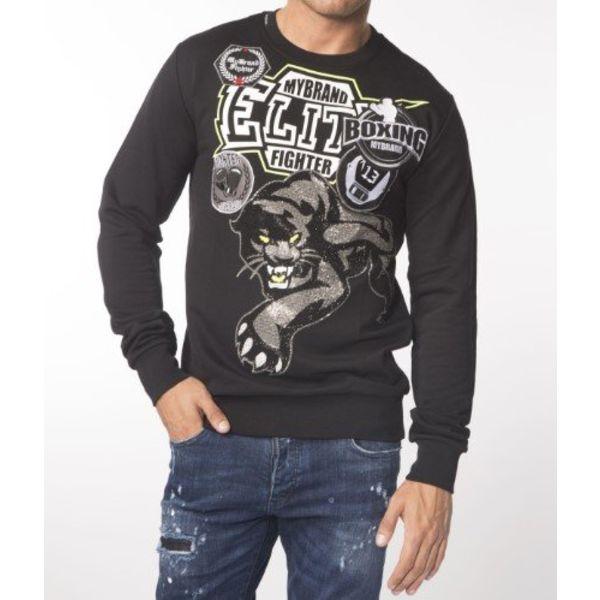 My Brand Elite Panther Sweater Black