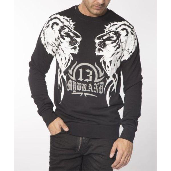 My Brand Double Lion Sweater Black