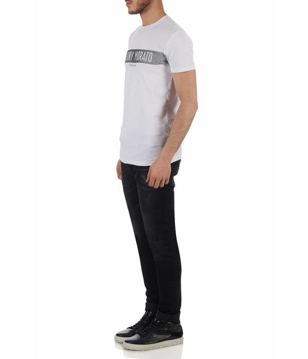 Antony Morato Antony Morato T-shirt MMKS01180-FA20001 White