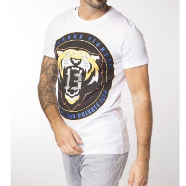 My Brand Circle Tiger T-shirt White
