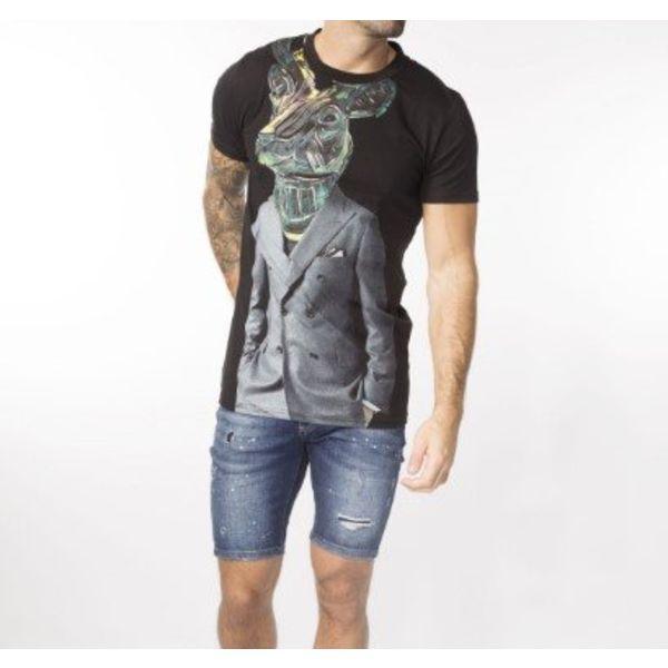 My Brand Moose Suit T-shirt Black
