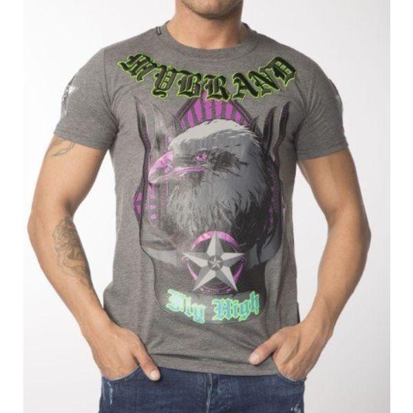 My Brand Eagle High T-shirt Grey