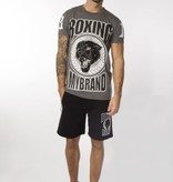 My Brand My Brand Boxing Panther T-shirt Grey