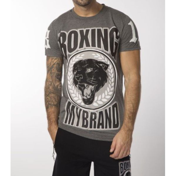 My Brand Boxing Panther T-shirt Grey