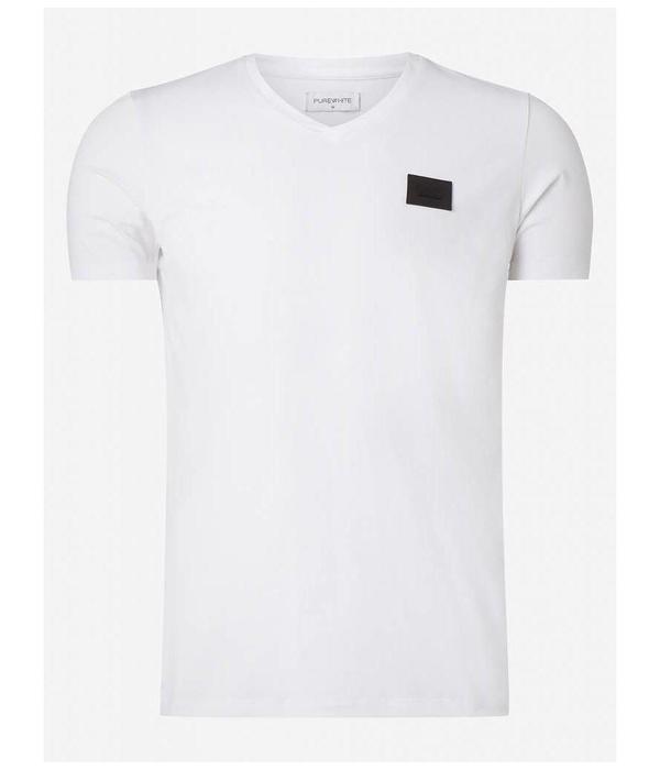 Purewhite Purewhite Essential Basic  V-Neck White