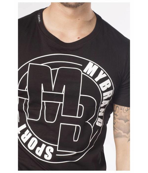 My Brand My Brand S5 Sport T-shirt Logo Black