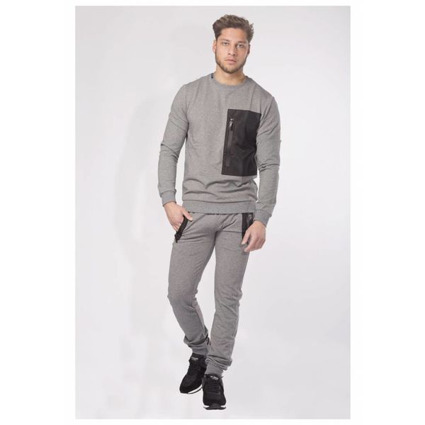 My Brand S5 Sport Sweater Parachute Grey