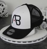 AB-Lifestyle AB Trucker Black/White