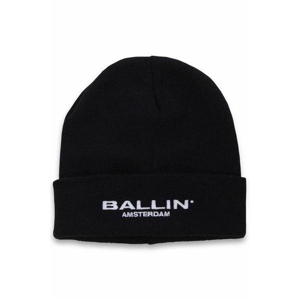 Purewhite Ballin Amsterdam Beanie Black