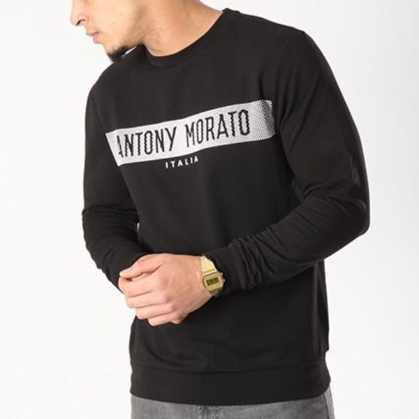 Antony Morato Sweater MMFL00378-FA150048 Black