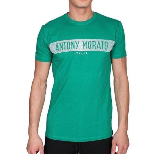 Antony Morato T-shirt MMKS01180-FA120001  Flag Green