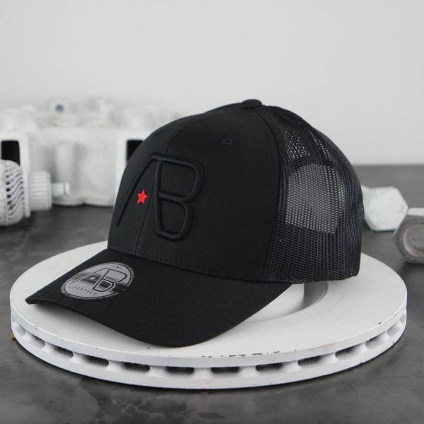 AB Retro Trucker Black