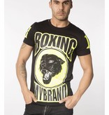 My Brand My Brand Boxing Panther T-Shirt Black