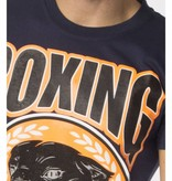 My Brand My Brand Boxing Panther T-Shirt navy