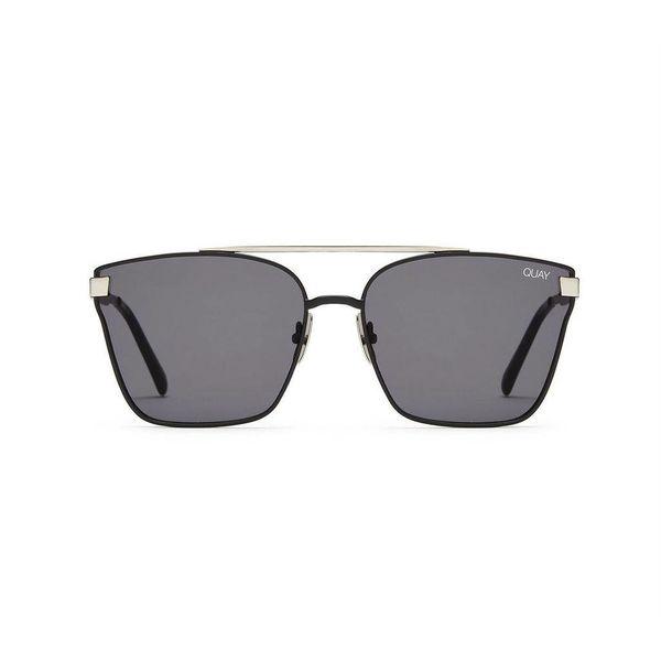 Quay Cassius Silver Sunglasses