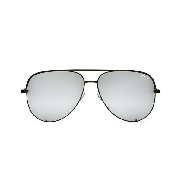 Quay High Key Silver Sunglasses