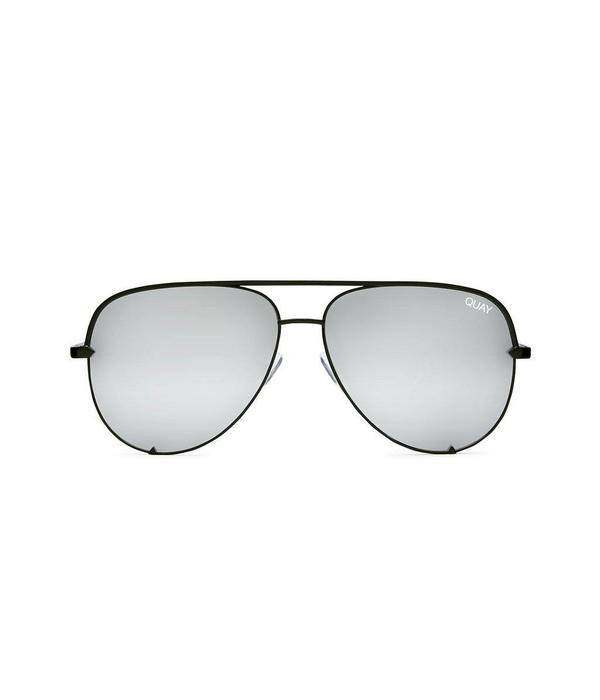 QUAY AUSTRALIA Quay High Key Silver Sunglasses