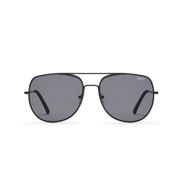 Quay Living Large Black Sunglasses