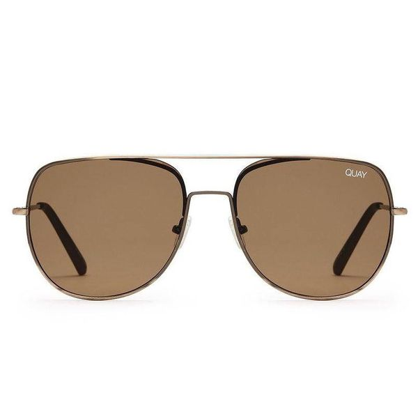 Quay Living Large Brown Sunglasses