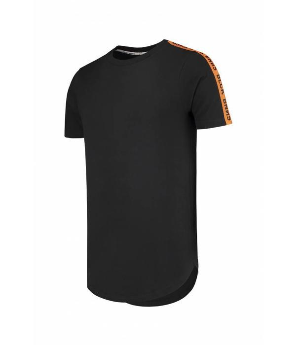 Black Bananas BlackBananas BLCK BNNS Orange Taped Tee T-Shirt