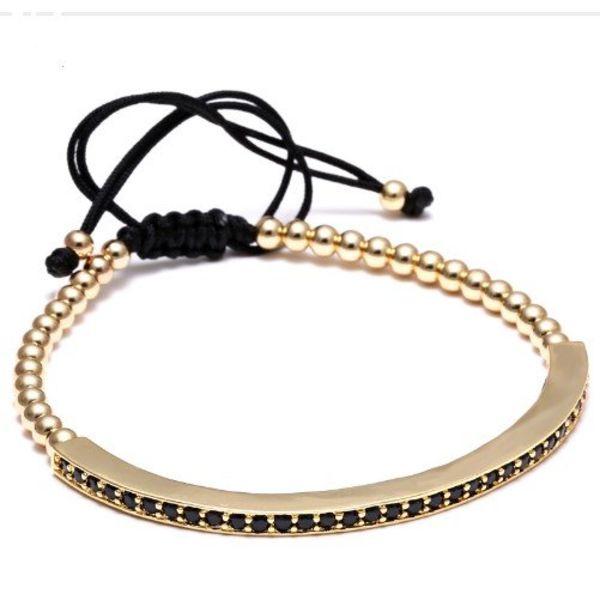 LXRY JEWELS Stropper Bracelets Gold