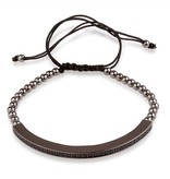 LXRY JEWELS Stropper Bracelets Black