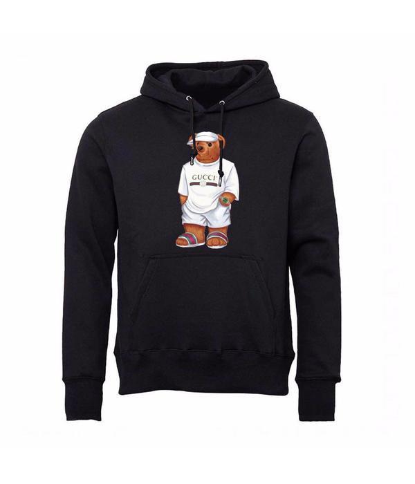 FM Fashion FM Gucci RO Hoodie Black
