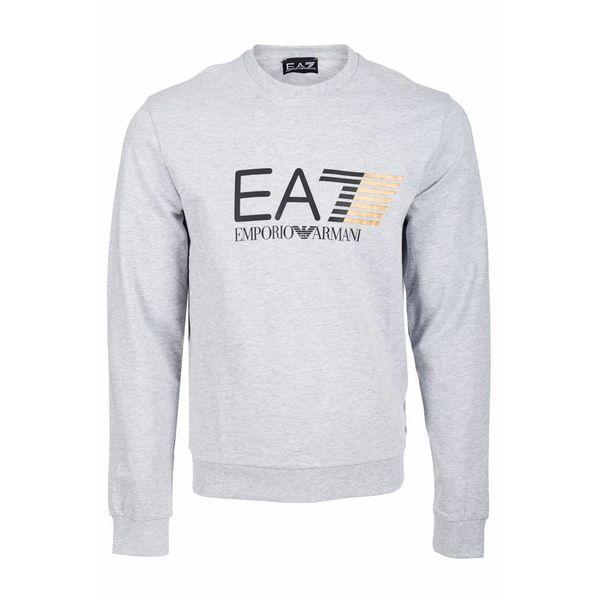 EA7 Sweater Light Grey Mel 3ZPM60 PJ05Z