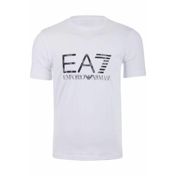 EA7 Camo t-shirt Wit 3ZPT84 PJM5Z