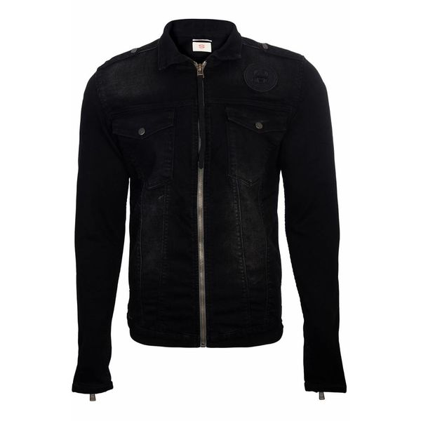 OWWW Nobio Trucker Jacket Black
