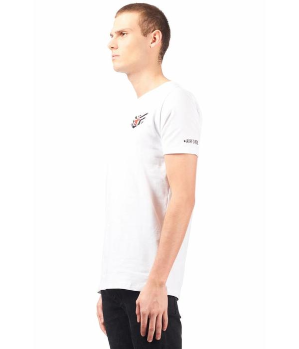 Airforce Airforce T-shirt Eagle Star White