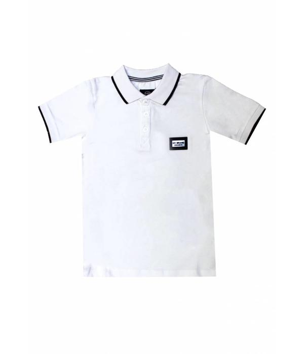 My Brand My Brand Colorfull Polo White Kids