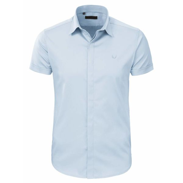 Zumo Shirt Half Slvs Light Blue
