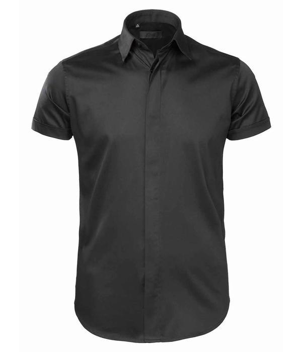 Zumo Zumo Shirt Half Slvs Black