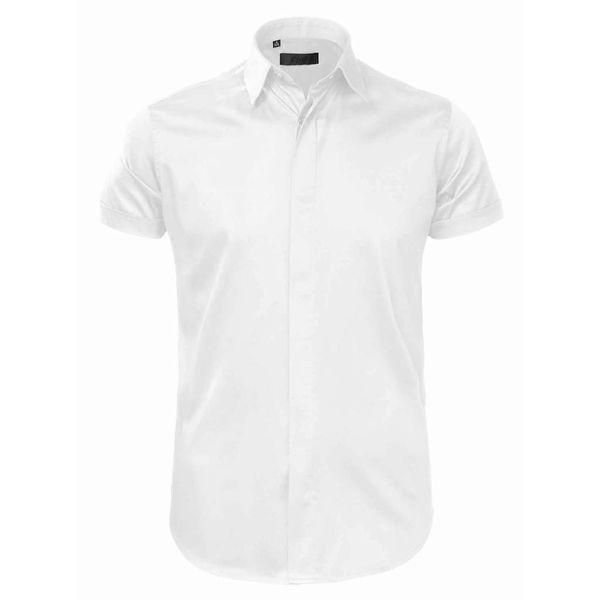 Zumo Shirt Half Slvs White