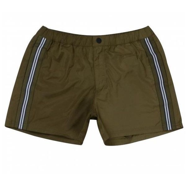 Airforce Swim Short Tape Short Dark Olive