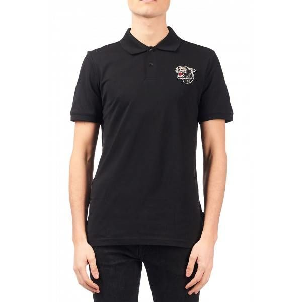 Airforce Polo Panter Patch True Black
