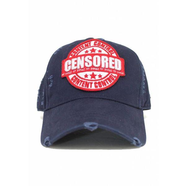 My Brand Censored Cap Navy