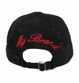 My Brand My Brand Censored Cap Black