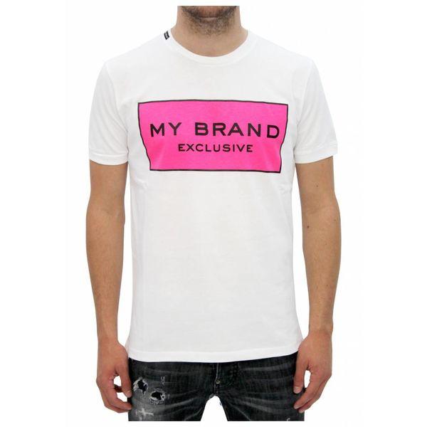 My Brand Logo Branding T-shirt Pink