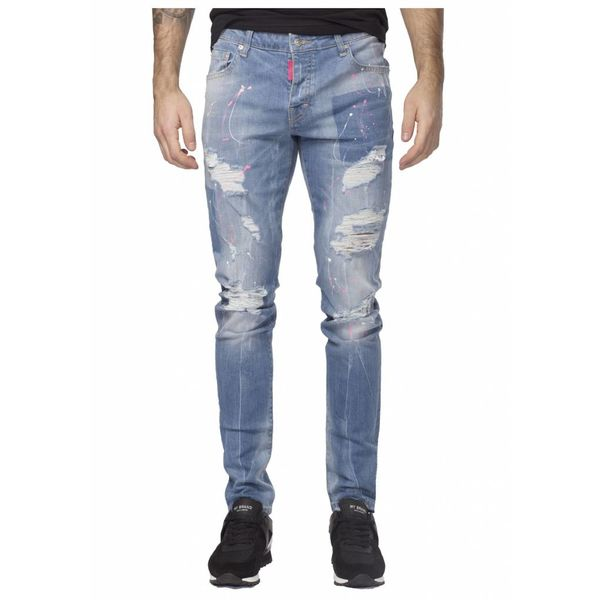 My Brand Jack 039 Pink Destroyed Jeans