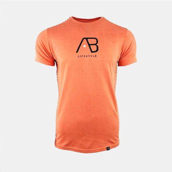 AB Tee The Ribb Peach