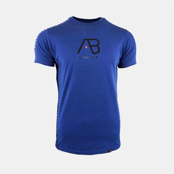 AB tee The Ribb Aquamarine Blue