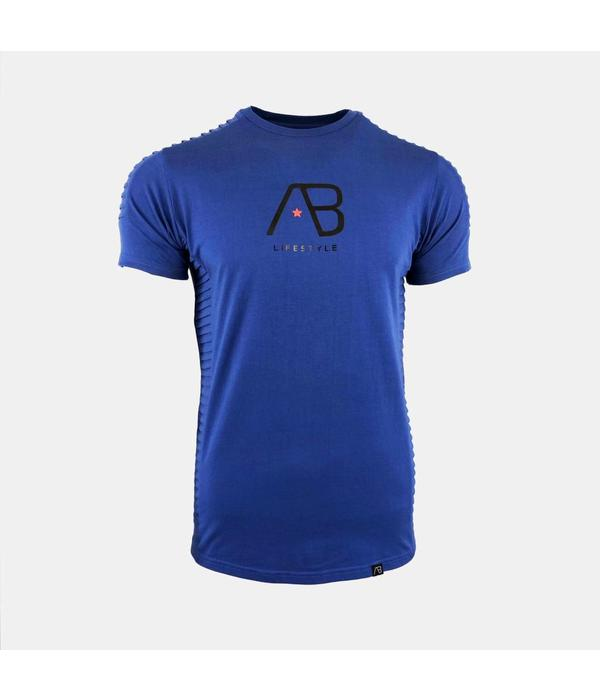 AB-Lifestyle AB tee The Ribb Aquamarine Blue