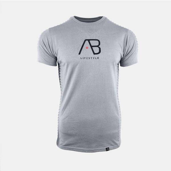 AB Tee The Ribb Iron Grey